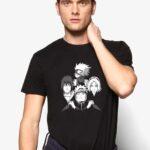buy team 7 black tshirt from 9tails apparels